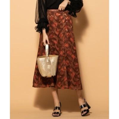 VICKY / ビッキー ジャガードプリントスカート