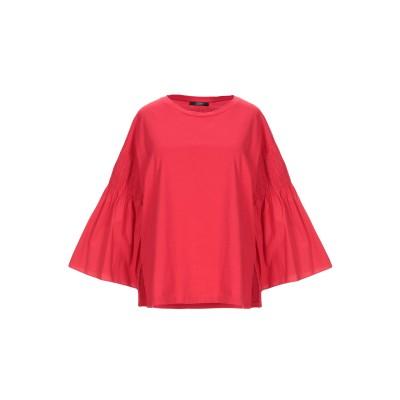 SEVENTY SERGIO TEGON T シャツ レッド 40 コットン 100% T シャツ