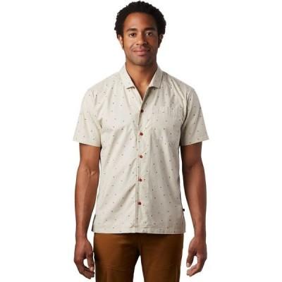 マウンテンハードウェア メンズ シャツ トップス Hand/Hold Printed Short-Sleeve Shirt