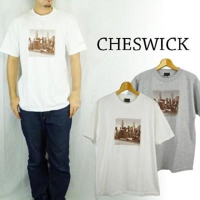 CHESWICK チェスウィック ピグメントプリントS S Tシャツ