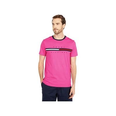 (取寄)トミー ヒルフィガー アダプティブ メンズ シグニチャー ストライプ トミー Tシャツ Tommy Hilfiger Adaptive Men's Signature Stripe Tommy T-Shirt