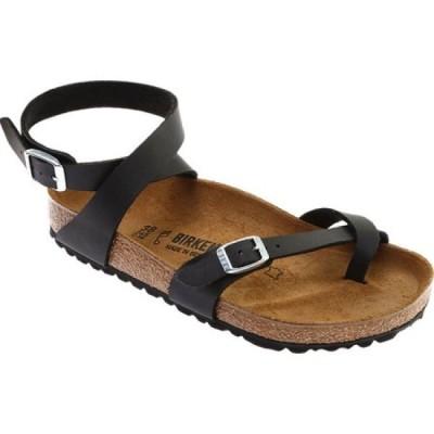 ビルケンシュトック Birkenstock レディース サンダル・ミュール シューズ・靴 Yara Toe Loop Sandal Black Birko/Flor