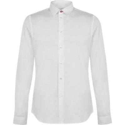 ポールスミス Paul Smith Tailoring メンズ シャツ トップス Cotton Shirt White
