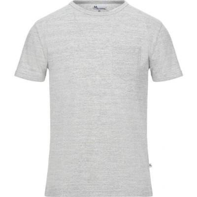 ドッピア アー DOPPIAA メンズ Tシャツ トップス t-shirt Light grey