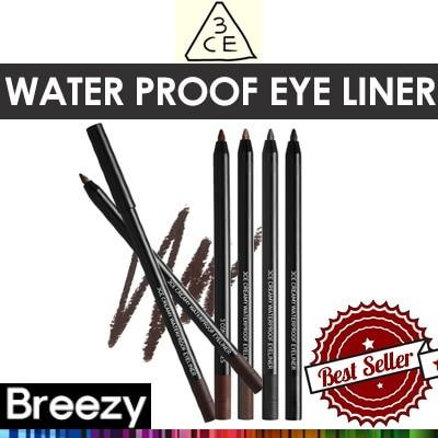 [stylenanda 3 concept eyes]BREEZY [STYLENANDA] 3CE CREAMY WATER PROOF EYE LINER / 0.6g / 14colors