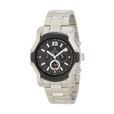 腕時計 ブローバ メンズ 98B149 Bulova Men's 98B149 Wintermoor Steel and Black Ion Case Watch