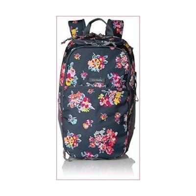 Vera Bradley Women's Lighten Up Journey Backpack, Tossed Posies(並行輸入品)