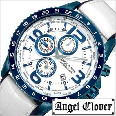 Angel Clover 腕時計 エンジェル クローバー 時計 モンド MOND メンズ ホワイト MO44BNV-WH