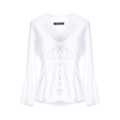FISICO T シャツ ホワイト S ナイロン 86% / ポリウレタン 14% T シャツ