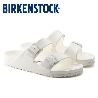 ビルケンシュトック Birkenstock アリゾナ EVA レディース メンズ サンダル 白 ホワイト 軽量 洗える コンフォートサンダル 2本ベルト Birkenstock