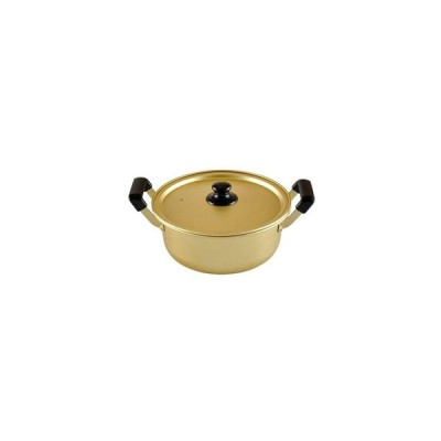 【お取り寄せ】和平フレイズ/アルミ 両手鍋 20cm ガス火専用 豊味庵/RA-9700