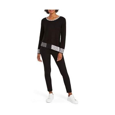 NIC+ZOE Women's Plus Size Casual, Black Multi, 3X並行輸入品 送料無料