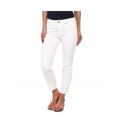 7 For All Mankind セブンフォーオールマンカインド レディース 女性用 ファッション ジーンズ デニム Kimmie Crop in Clean White - Clean White