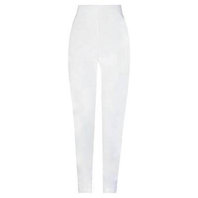 PIERANTONIO GASPARI パンツ ホワイト 40 レーヨン 56% / ナイロン 36% / ポリウレタン 8% パンツ