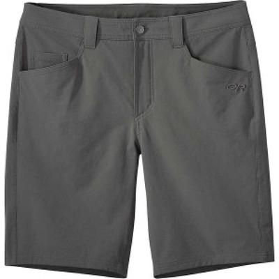 アウトドアリサーチ メンズ ハーフパンツ・ショーツ ボトムス Outdoor Research Men's Voodoo 10 Inch Short Charcoal