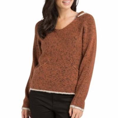 プラーナ prAna レディース パーカー トップス Shine On Hooded Sweater Chai Heather