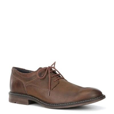 ジョセフセイベル メンズ スニーカー シューズ Men's Earl 05 Leather Lace-Up Oxford Camel