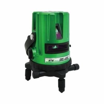 代引不可 グリーンレーザー墨出器 SRS-410G 精度 水平 垂直 +-1mm/10m 防塵 防水 IP54相当 STS AL