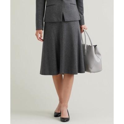 スカート 【L】【セットアップ対応】【美Skirt】【消臭性】【ウォッシャブル】ツイルジャカードスカート