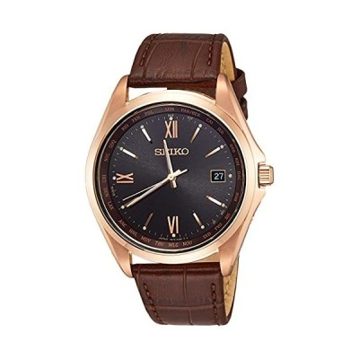 [セイコーウオッチ] 腕時計 セイコー セレクション SBTM298 メンズ ライトブラウン