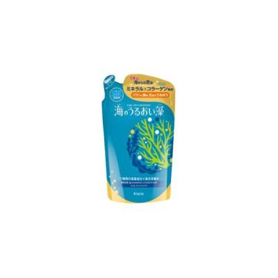 クラシエホームプロダクツ 海のうるおい藻 うるおいケアリンスインシャンプー 詰替用 420ml
