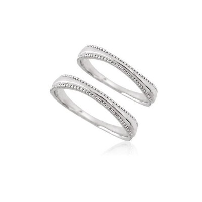 with me. K10WG スマートミル ペアリング  文字入れ刻印可能  ペアリング 結婚指輪 マリッジリング