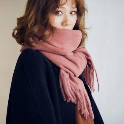 【全18色】マフラー ストール フリンジ ファッション小物 大人可愛い シンプル 防寒 通勤 カラバリ豊富