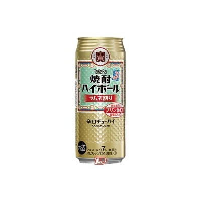 焼酎ハイボール ラムネ割り タカラ 500ml 缶 24本入