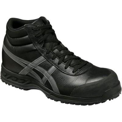 アシックス 安全靴 ウィンジョブ 71S <FFR71S-9075> 30.0cm ブラック×ガンメタ