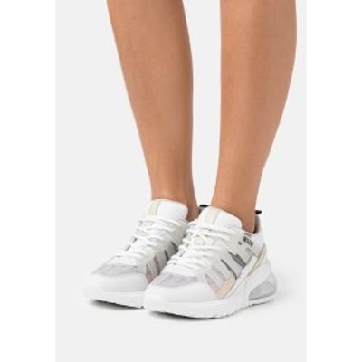 エムエスジイエム レディース スニーカー シューズ SCARPA SHOES - Trainers - white/silver white/silver