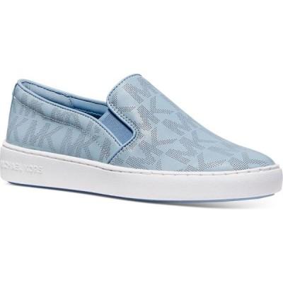 マイケル コース Michael Kors レディース スリッポン・フラット シューズ・靴 Keaton Slip-On Sneakers Pale Blue
