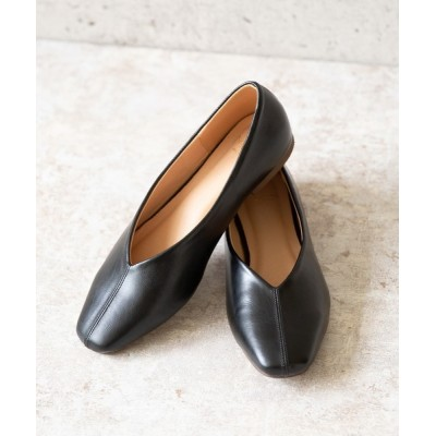 welleg from outletshoes / Vカットフラットパンプス WOMEN シューズ > パンプス