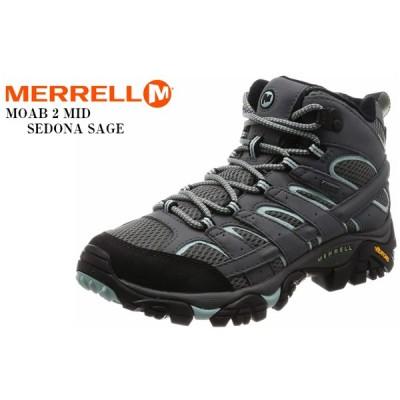 MERRELL(メレル) MOAB 2 MID GORE-TEX WIDE WIDTH モアブ2ミッドゴアテックス ワイドウィズ トレッキングカジュアルブーツ レディス