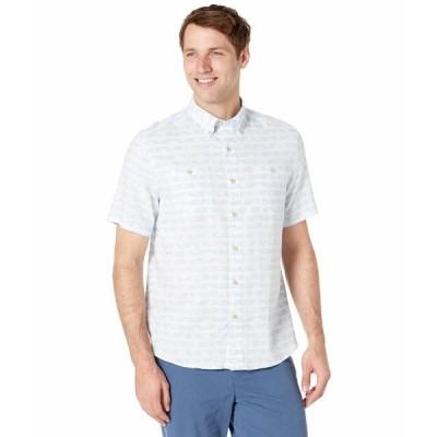 サウザーンタイド シャツ トップス メンズ Palm Dock Shirt Sky Blue