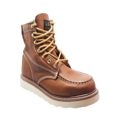 """アドテック ブーツ&レインブーツ シューズ メンズ Men's 6"""" Moc Toe Work Boot Brown"""