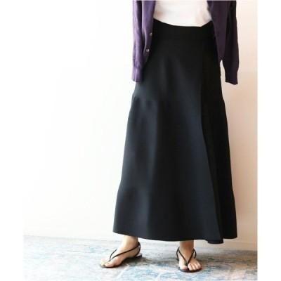 スカート ニットラップスカート◆