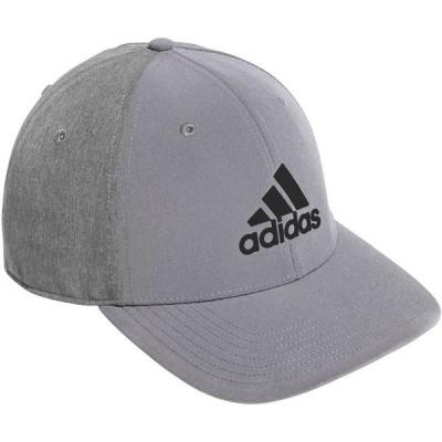 アディダス adidas メンズ キャップ 帽子 A-Stretch Badge of Sport Tour Heather Golf Hat Grey