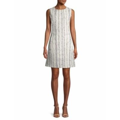 オスカーデラレンタ レディース ワンピース Stripe Shift Dress