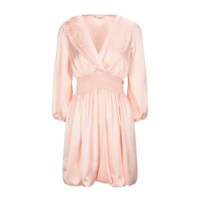 MANGANO ミニワンピース&ドレス ライトピンク 46 ポリエステル 100% ミニワンピース&ドレス