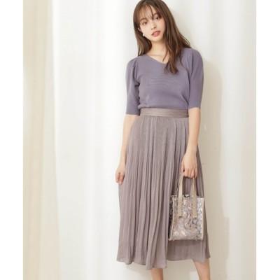 【プロポーションボディドレッシング/PROPORTION BODY DRESSING】 エアリープリーツスカート