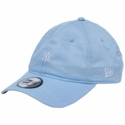【新品】ニューエラ 930キャップ  クローズストラップ シャンタン ニューヨークヤンキース サックスブルー スノーホワイト New Era NewEr