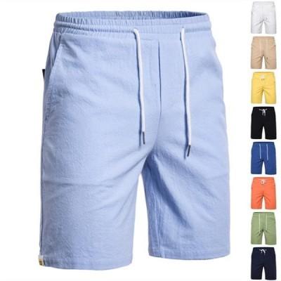 ショートパンツ メンズ 半ズボン ハーフパンツ スウェットパンツ チノパン パンツ ボトムス カラフル 9color