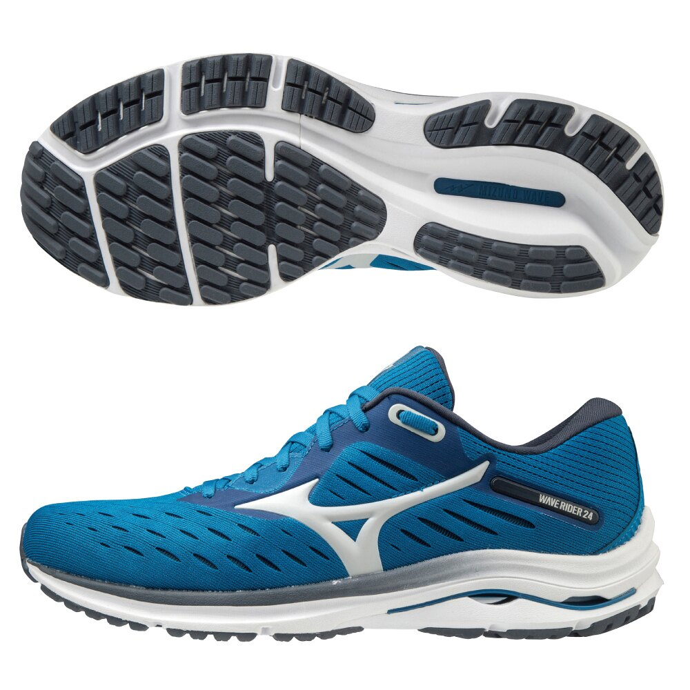 WAVE RIDER 24 一般型男款慢跑鞋 ENERZY中底材質 J1GC200338【美津濃MIZUNO】