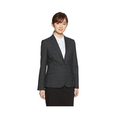(アオキ)AOKI(アオキ) プレシャスライン Blackプレミアムウォッシュプラスセットアップ 1ボタンジャケット G172L575 グレ