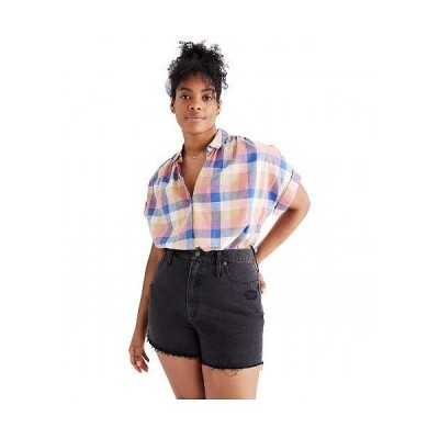 Madewell レディース 女性用 ファッション ショートパンツ 短パン The Momjean Shorts in Encino - Encino