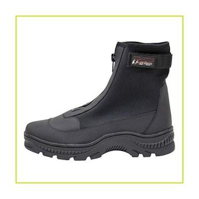 Frogg Toggs Aransas IIネオプレンSurf & Sand Shoe Cleated???12?D (M) US???ブラック/タン【並行輸入品】