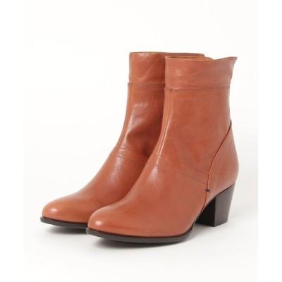 chumchum / Row /バックファスナー カーフブーツ WOMEN シューズ > ブーツ