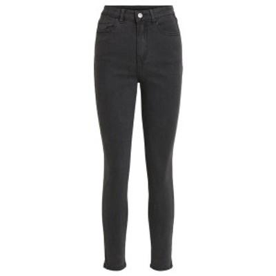 ヴィラ レディース デニムパンツ ボトムス Slim fit jeans - black black