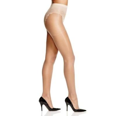 ヒュー レディース パンツ アンダーウェア French Lace Control Top Sheer Tights