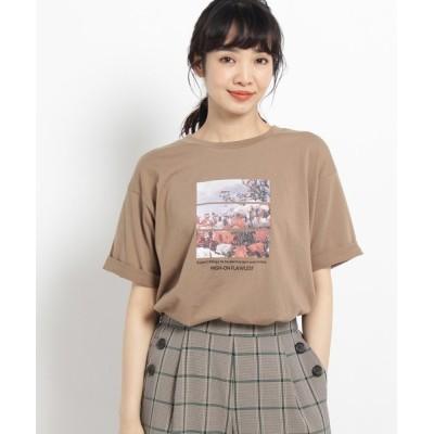 THE SHOP TK / 天竺秋フォトTシャツ WOMEN トップス > Tシャツ/カットソー